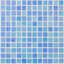 Мозаика Shell Mix Blue 551/552 (на сетке)