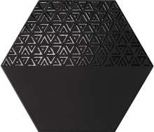 Hexamix Opal Deco Black 28.5x33