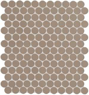 Color Now Fango Round Mosaico 29.5x32.5
