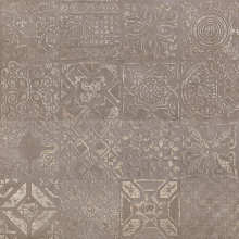 Dec.Patchwork Brown Lapp 60x60