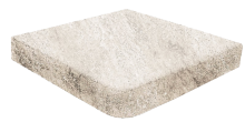 Ступень угловая Evolution Stone White 33×33