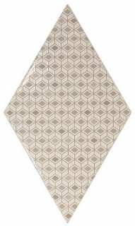 Rhombus Wall Pattern Cream 15,2x26,3