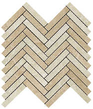 Force Light Herringbone Mosaic 29.8x29.3 Lucida