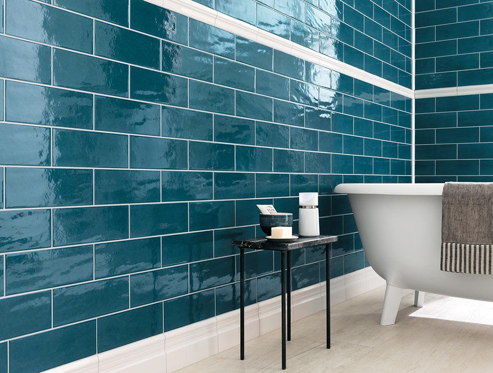 Edge ceramic tile